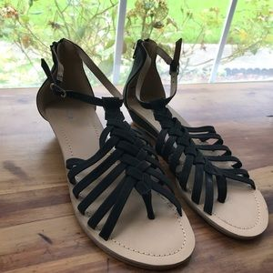 Black Sandals! Only worn once.